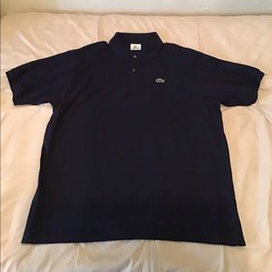 Lacoste polo shirt men's navy
